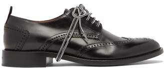 Givenchy Cruz Wingtip Brogues - Mens - Black