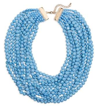 Cara Multilayer Stone Necklace