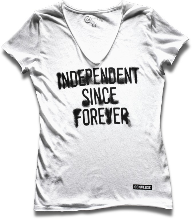 Converse Women's Independent V-Neck Tee