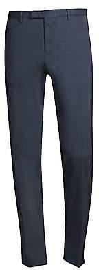 Boglioli Men's Straight-Fit Hopsack Trousers