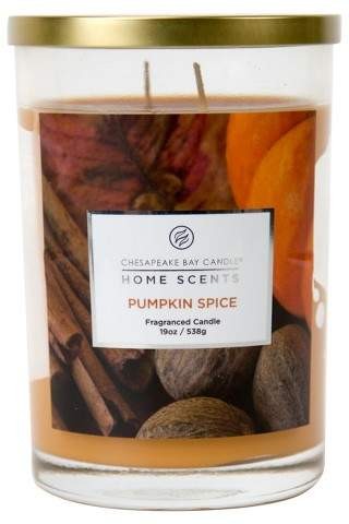 Chesapeake Bay Candle Jar Candle Pumpkin Spice 19oz – Chesapeake Bay Candles® Home Scents