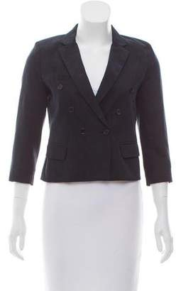 Etoile Isabel Marant Notch-Lapel Three-Quarter Sleeve Blazer