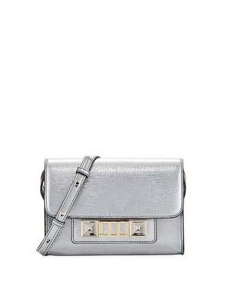 Proenza Schouler PS11 Metallic Leather Wallet with Strap