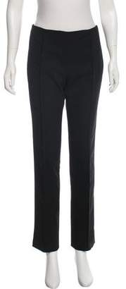 Wes Gordon Mid-Rise Wool Pants