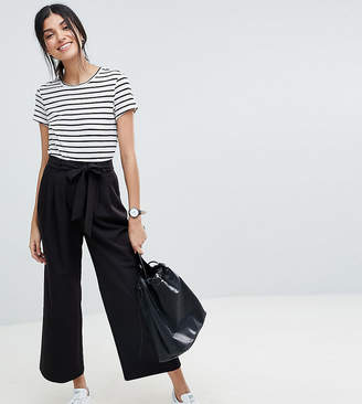 Asos (エイソス) - Asos Tall ASOS DESIGN Tall mix & match culotte with tie waist
