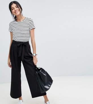 Asos Tall Design Tall Mix & Match Culotte With Tie Waist