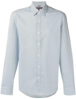 Michael Kors micro polka dot shirt