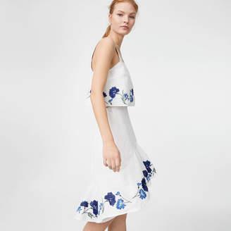 Club Monaco Lolia Linen Skirt