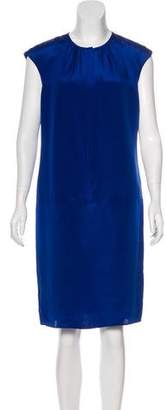 Magaschoni Silk Shift Dress