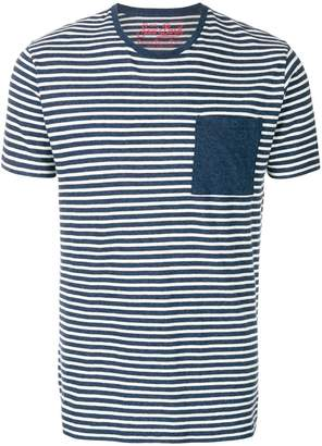 MC2 Saint Barth striped chest pocket T-shirt