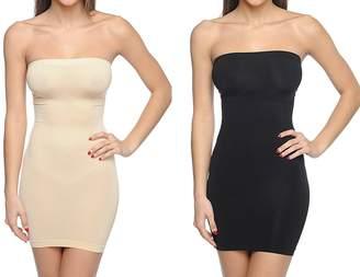8e95e4c4423 Body Beautiful Shapewear Body Beautiful Strapless Full Body Slip Shaper