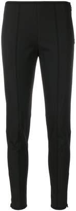 Prada paneled skinny fit trousers