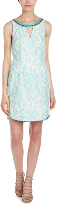 Hale Bob Embroidered Sheath Dress
