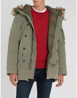 Polo Ralph Lauren Milit cotton-drill parka coat
