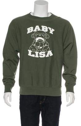 A Bathing Ape Baby Lisa Crew Neck Sweatshirt