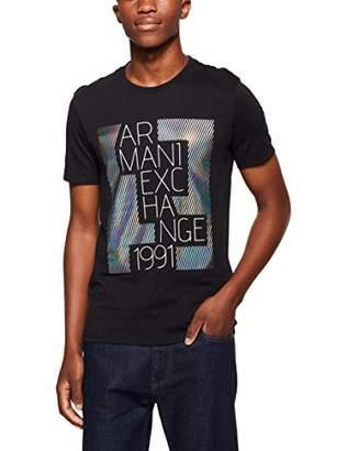 Armani Exchange A|X Men's Metallic Graphic tee