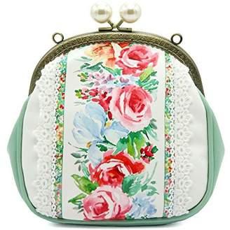 27d05920e4c7 at Amazon Canada · Miss Cat Tote Bag Shoulder Bag Crossbody Bag Evening Bag  for Women PU Fabric Rose Floral
