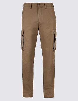 Marks and Spencer Pure Cotton Cargo Trousers