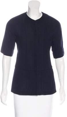 Marni Short Sleeve Woven Jacket