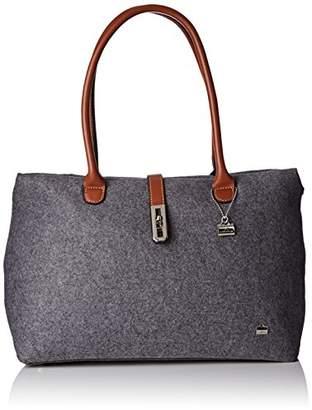 La Bagagerie Women Shop Nf+ Shoulder Bag Grey Size:
