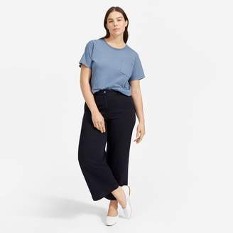 Everlane The Cotton Box-Cut Pocket Tee