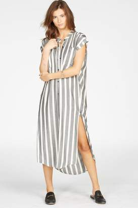 Knot Sisters Striped Woven Dress