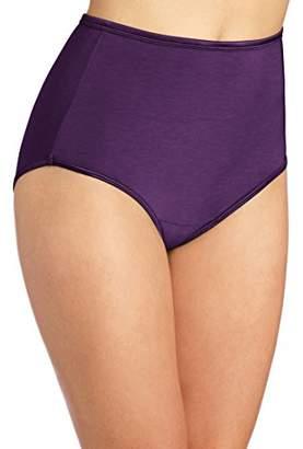 Vanity Fair Women's Illumination Panty 13109 Briefs, Sangria, XX-Large/9