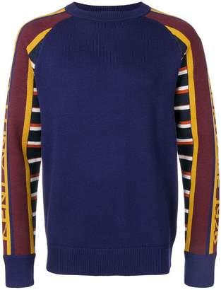 Kent & Curwen contrasting sleeves jumper