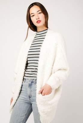 Azalea Ultra Soft Fuzzy Cardigan