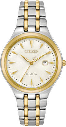 Citizen Eco-Drive Women's Two-Tone Stainless Steel Bracelet Watch 32mm