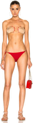 ADRIANA DEGREAS for FWRD Hand On Bikini Set $326 thestylecure.com