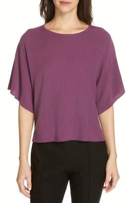 Eileen Fisher Elbow Sleeve Top
