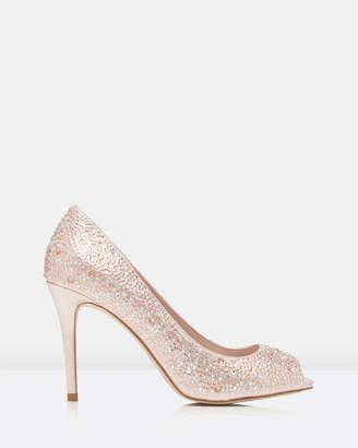 Forever New Olisa Heatfix Peep Toe Court Shoes