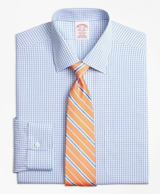 35132cfd6aa92c Brooks Brothers Madison Classic-Fit Dress Shirt, Non-Iron Tonal Sidewheeler  Check