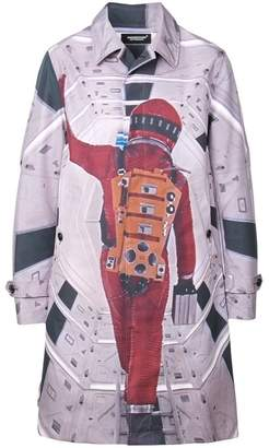 Undercover astronaut print coat