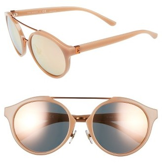 Women's Tory Burch 54Mm Sunglasses - Rose Gold $195 thestylecure.com
