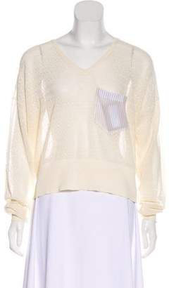 Band Of Outsiders Knit Scoop Neck Sweater