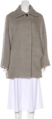 Alberta Ferretti Alpaca Short Coat