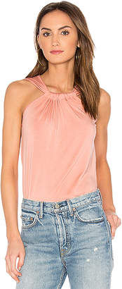 amour vert Mora Tank in Rose $78 thestylecure.com