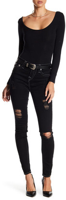 True Religion High Rise Super Skinny Ankle Jeans