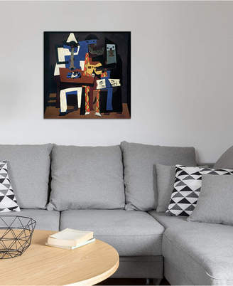"iCanvas Three Musicians"" by Pablo Picasso Gallery-Wrapped Canvas Print (26 x 26 x 0.75)"