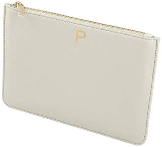 Cathy's Concepts Cathy Concepts Personalized Embossed Pebble Polyurethane Clutch