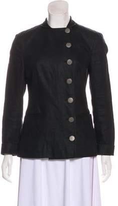 Nicole Miller Linen Lightweight Jacket