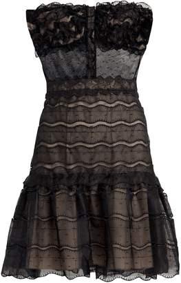 Alexis Adlai Bustier-Look Dress