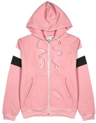 Wildfox Couture Varsity Stripe Regan Fleece Sweatshirt