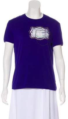 Just Cavalli Short-Sleeve Crew Neck T-Shirt