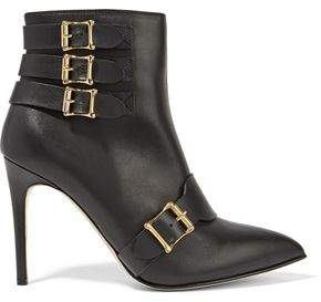 Rupert Sanderson Grenade Buckled Leather Boots