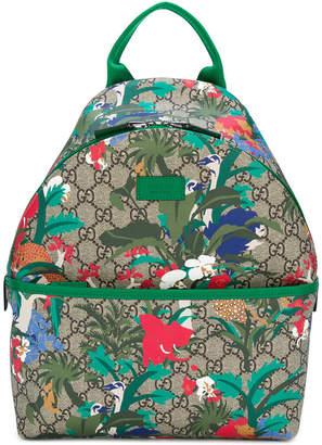 Gucci Kids GG Supreme printed backpack