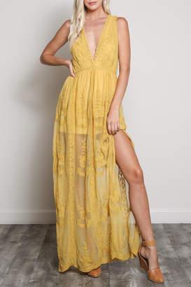 Wishlist Sleeveless Zip Dress