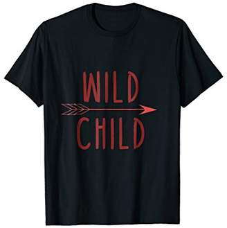 Wild Child T-Shirt Women Boys Girls Stay Wild Childrens Tee